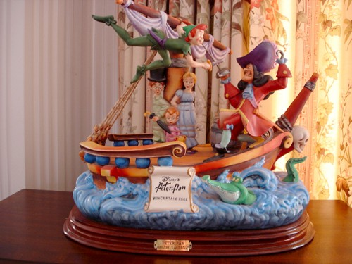 Disney's Peter Pan and Captain Hook Ship by Laurenz
