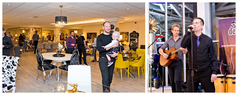 Febland Switch On Showroom Entertainment with the Dead Beats Band
