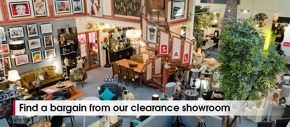 Blackpool Clearance Furniture and Lighting Showroom